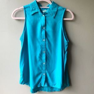 BOGO NWT Santiki Collared Button Down Tank Top